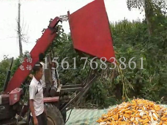 小型玉米收获机器