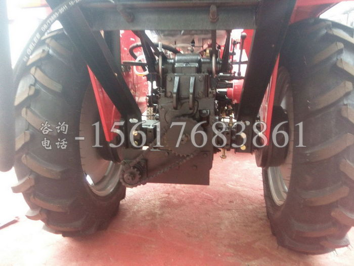 多缸车装玉米收割机
