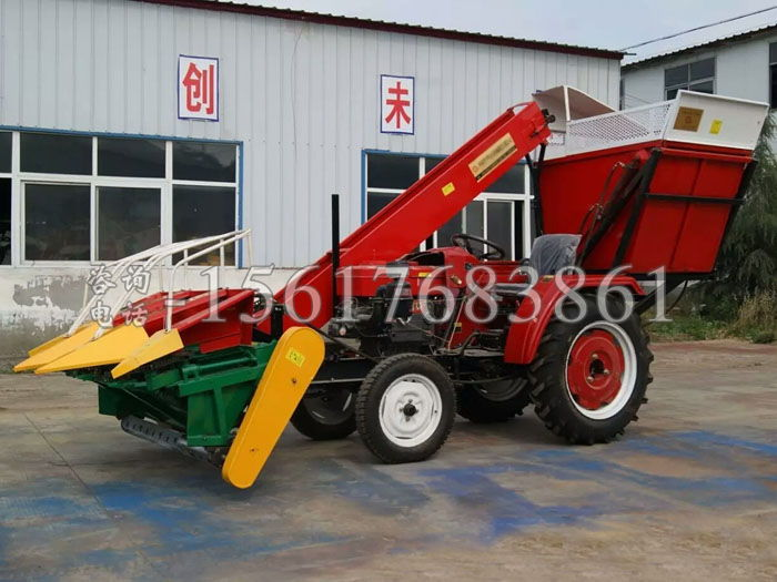 三行玉米收割機